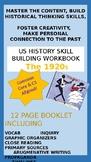 1920s US History Skill Building Workbook
