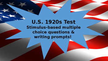 1920s Unit Test
