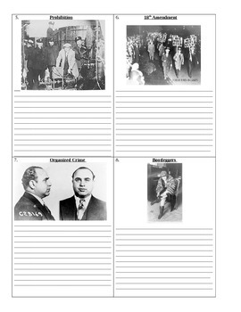 1920's: Who's Who and What's What Assignment