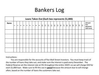 1929 Stock Market Crash Simulation