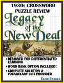 1930s Crossword Puzzle Review: Legacy of the New Deal