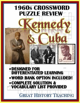1960s Crossword Puzzle Review: Kennedy and Cuba