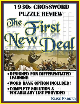 1930s Crossword Puzzle Review: The First New Deal