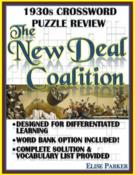 1930s Crossword Puzzle Review: The New Deal Coalition