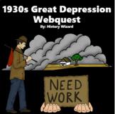 1930s Great Depression Webqeust