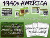1940s America - visual, textual, engaging 42-slide PPT for HS U.S. History