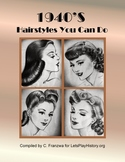 1940s Hairstyles Tutorials - Primary Source Document