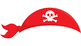 195 Pirate Props for Photo Booth Dramatic Play or Reader's