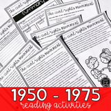 1950 - 1975 America (SS5H6, SS5H6a, SS5H6b, SS5H6c, SS5H6d)