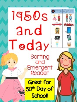 1950 and Today Mini-Pack (Sorts and Reader)
