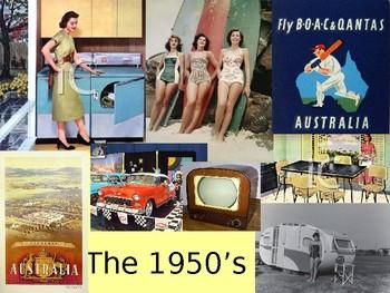 1950's Australia Decade Study PPT