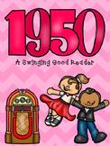 1950's Mini Book (50th day of school)