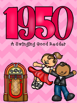 1950's Mini Book (50th day of school)