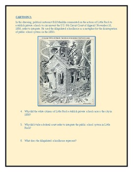 1950s-1960s Political Cartoon Worksheet