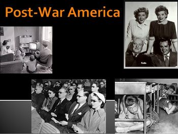 1950s American Culture PowerPoint Lesson