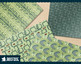 1950s Atomic Mid-Century modern digital paper, retro atomic green