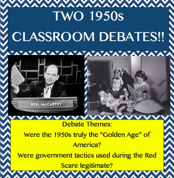 1950s Classroom Debates
