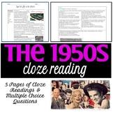 1950s Cloze Reading