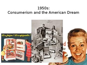 1950s Consumerism, Conformity, and the American Dream