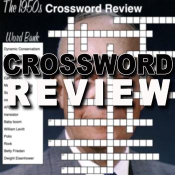 1950s Crossword Puzzle Review