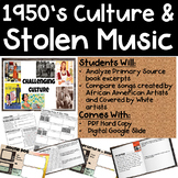 1950s Culture and Stolen Music