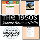 1950s Google Forms Activity