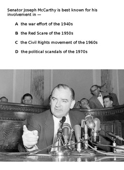 1950s STAAR review questions for ELL and SPED