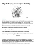 1950s women's rights DBQ