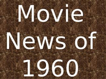 1960 Movie News Presentation