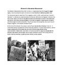 1960's Counterculture - the Women's Movement