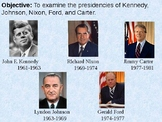 1960 to 1980: From JFK to Jimmy Carter PowerPoint Presentation