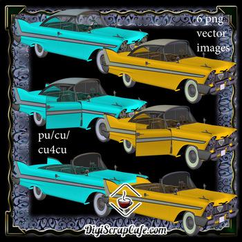 1960s Compact Car Set