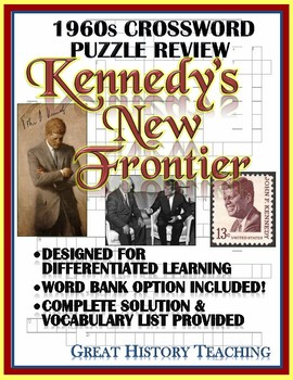 1960s Crossword Puzzle Review: JFK and the New Frontier