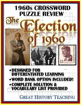 1960s Crossword Puzzle Review: The Election of 1960