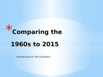 1960s Introduction PowerPoint