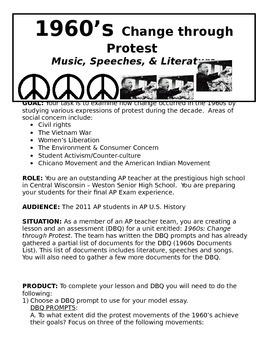1960s Protest Unit