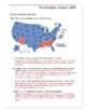 1964 Electoral College Worksheet:  Election of 1964 Map Worksheet