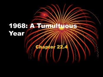 1968: A Tumultuous Year
