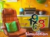 1968 Simulation: Counterculture & Protest PowerPoint-FUN! FUN!