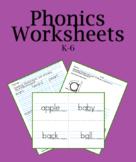 197 Digital Phonics Worksheets PDF: Paperless or Printable