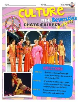 1970s Culture Gallery Walk