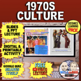 1970s Culture | Gallery Walk | Distance Learning Pack