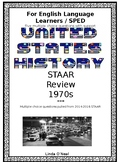 1970s STAAR questions modified for SPED and ELL
