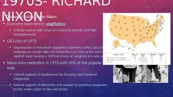 1970s to Present PPT
