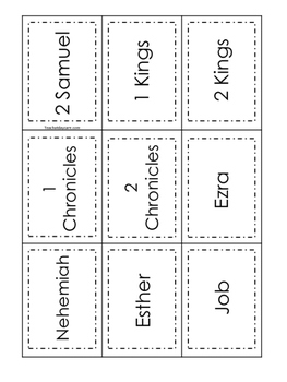 198 Bible Books, Authors, and Category Sort Christian Game Download.