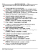 1980's-1990's US History Vocabulary Worksheet Collection