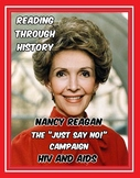 1980s: Nancy Reagan, Just Say No, and HIV/AIDS