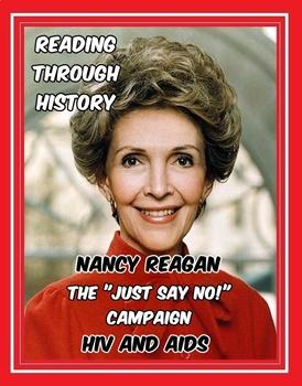 1980s: Nancy Reagan, Just Say No, and HIV/AIDS