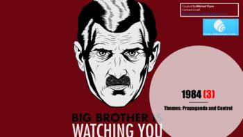 1984 (3) Themes - Propaganda and Control