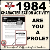 1984: ARE YOU AN AMERICAN PROLE? Analysis and Fun, Creative Activity